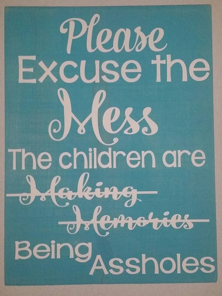 Pardon the Mess...