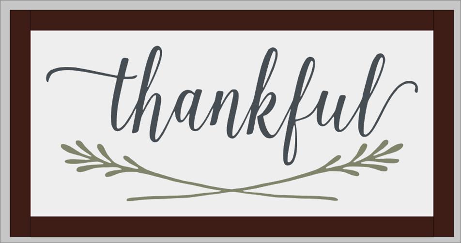 Thankful (framed)