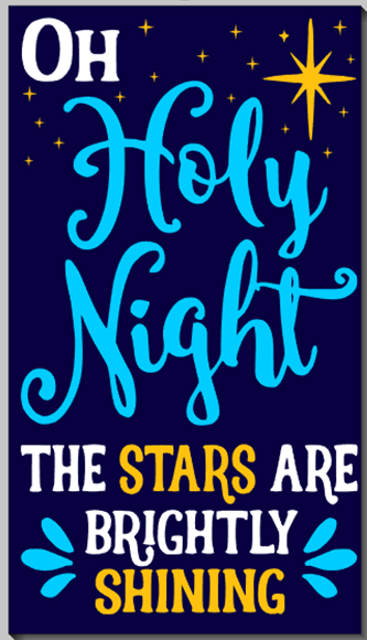 O Holy Night, the Stars are Brightly Shining