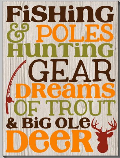 Fishing Poles & Hunting...