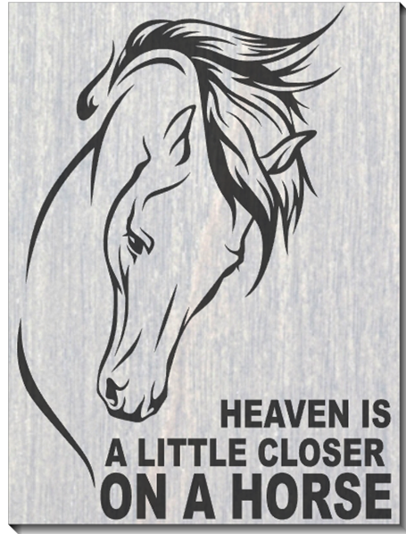 Heaven is a little Closer...