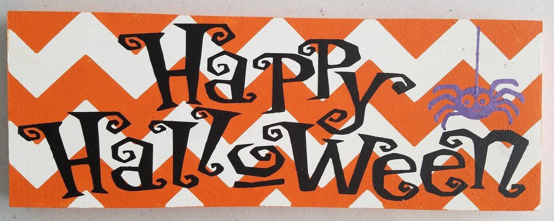 Happy Halloween with Chevron