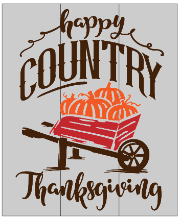 Happy Country Thanksgiving