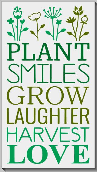 Plant, Grow, Harvest