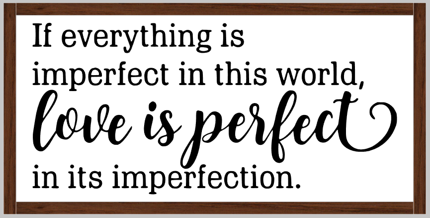 Love is Perfect
