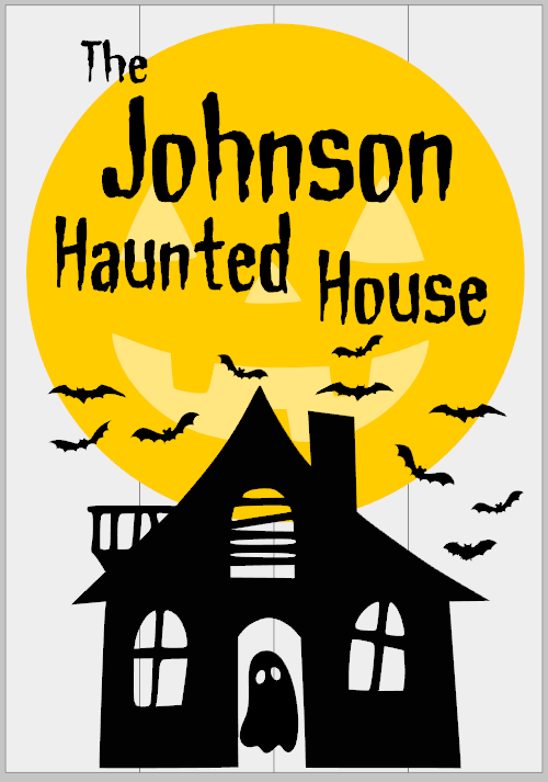 Personalized Haunted House