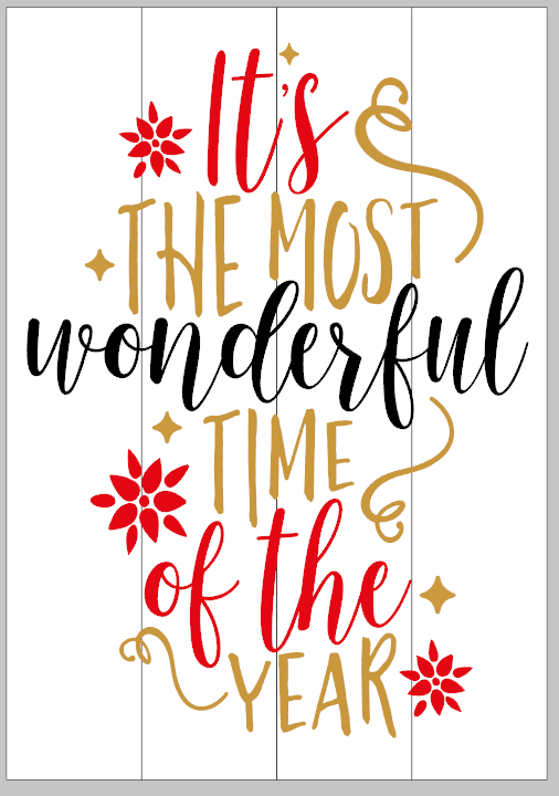 It's the Most Wonderful of the Year