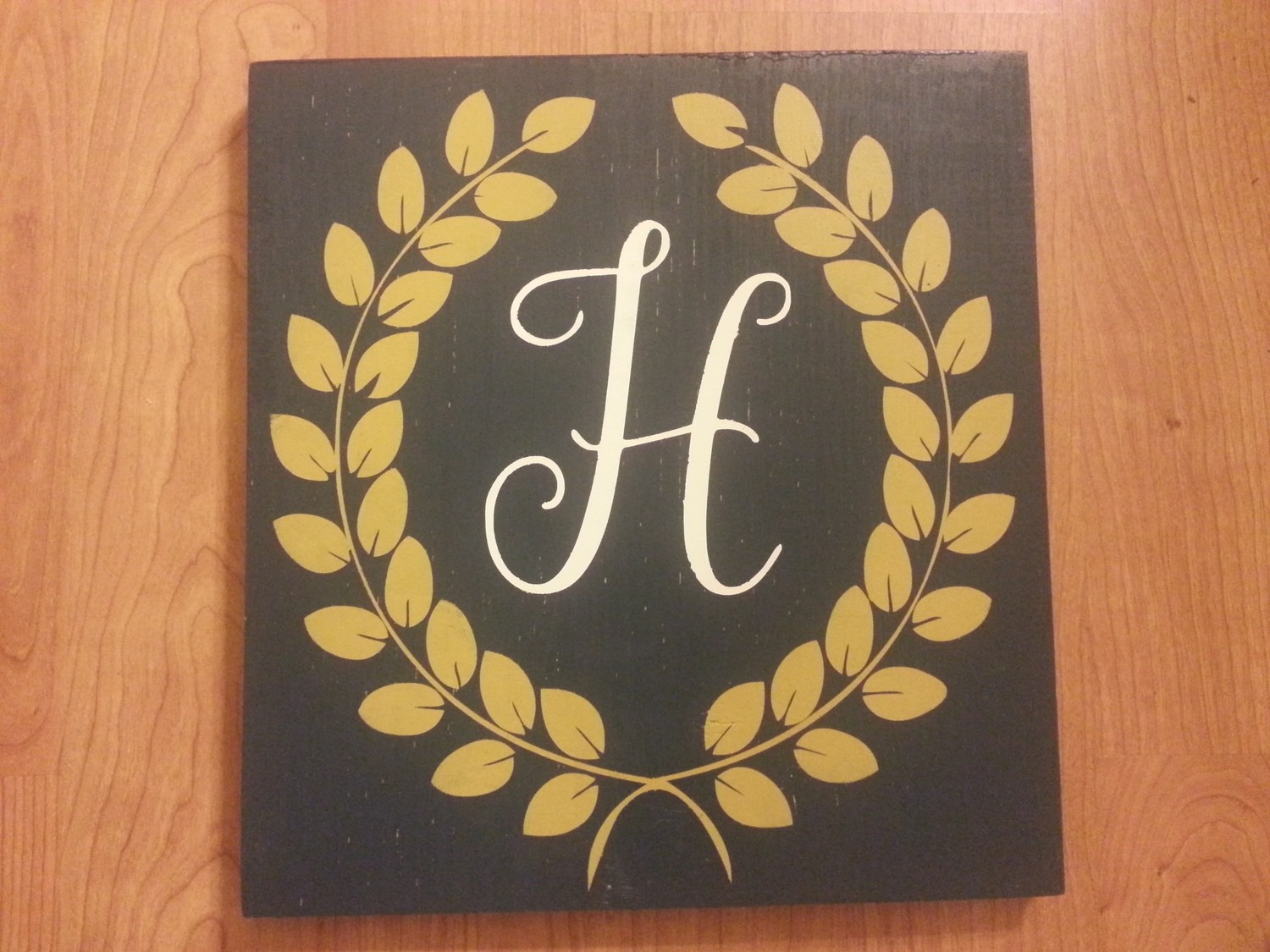 Initials with Frame