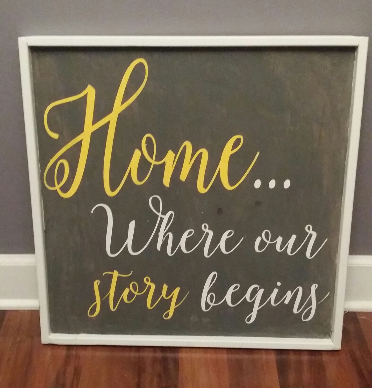 Home... Where our story begins