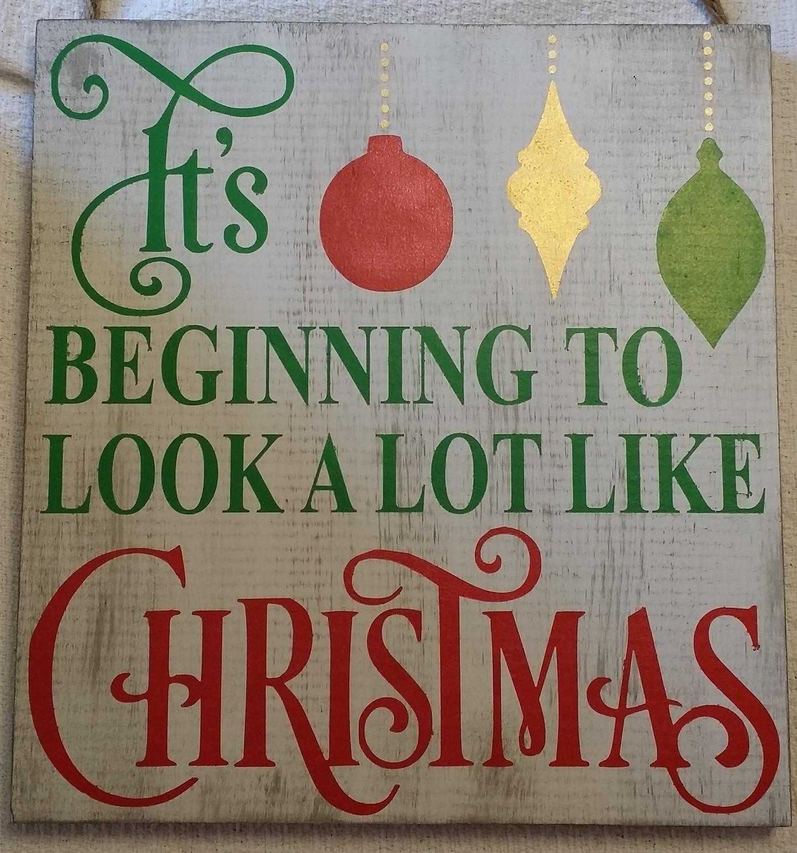Look Alot Like Christmas