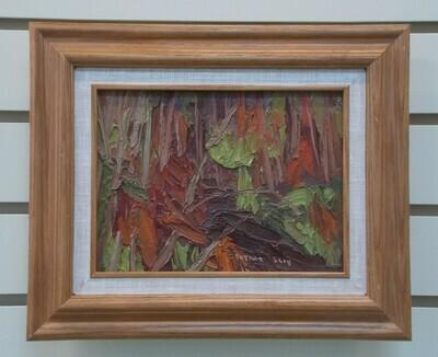 October Wood Interior - Arthur Lloy