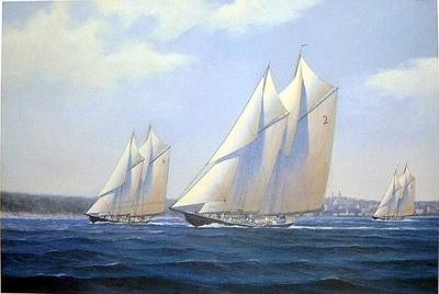 Bluenose Elimination Race