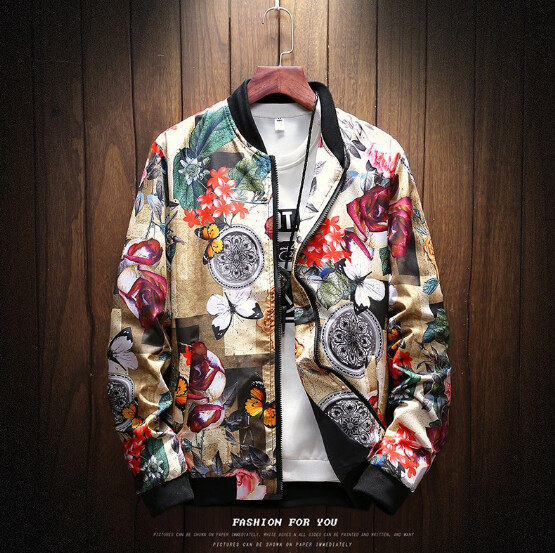 Hip Hop Cardigan Jacket  Ropa Coreano Korean Style