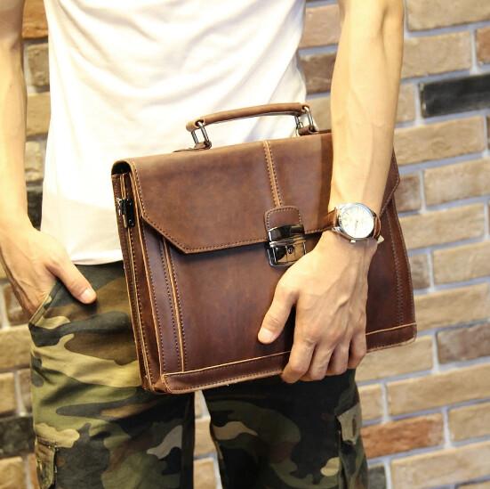 Clutch Bolsa de Mano Hombre Korean Style