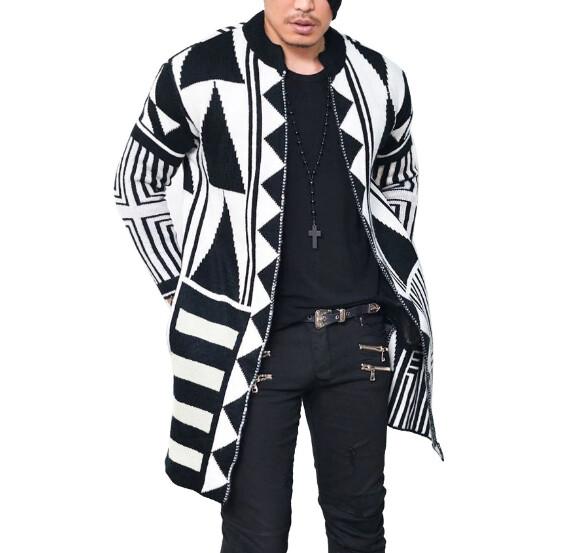 Abrigo Chaquetes Cardigan Hombre Korean Style