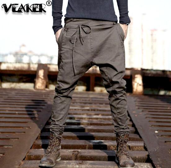 Pantalones de Hip Hop Slim Fit Hombre Korean Style
