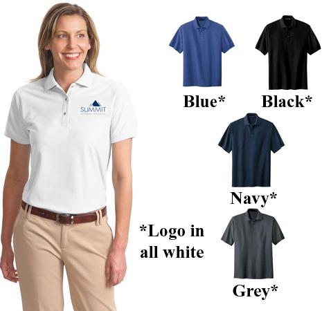 Port Authority Ladies Silk Touch Polo