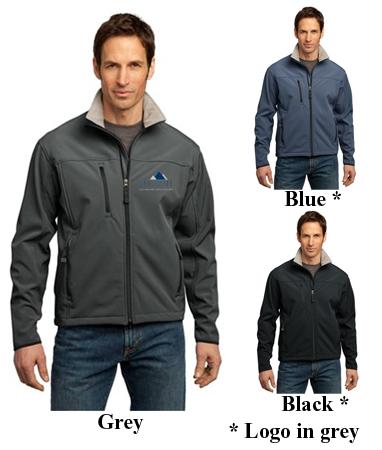 Big Mens Glacier Soft Shell Jacket