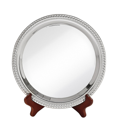 Nickel Plated Plate - 4 sizes