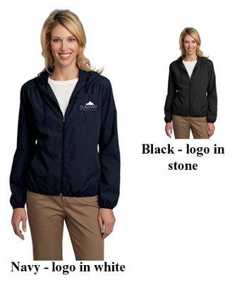 Port Authority Ladies Hooded Essential Jacket