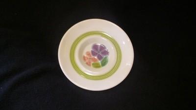 Franciscan Earthenware, Floral Pattern, Saucer 5 3/4