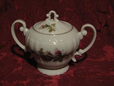 Fine China of Japan, Royal Rose, Sugar Bowl W/Lid
