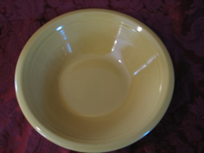 Fiestaware by Homer Laughlin Serving Bowl, Golden Yellow, 10.25