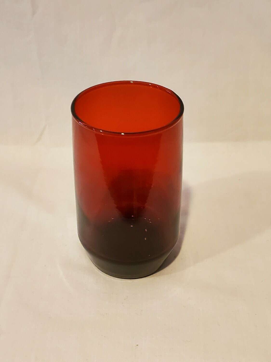 """Anchor Hocking, Newport, Royal Ruby Red 3 7/8"""" Juice Glass, Plain Pattern"""