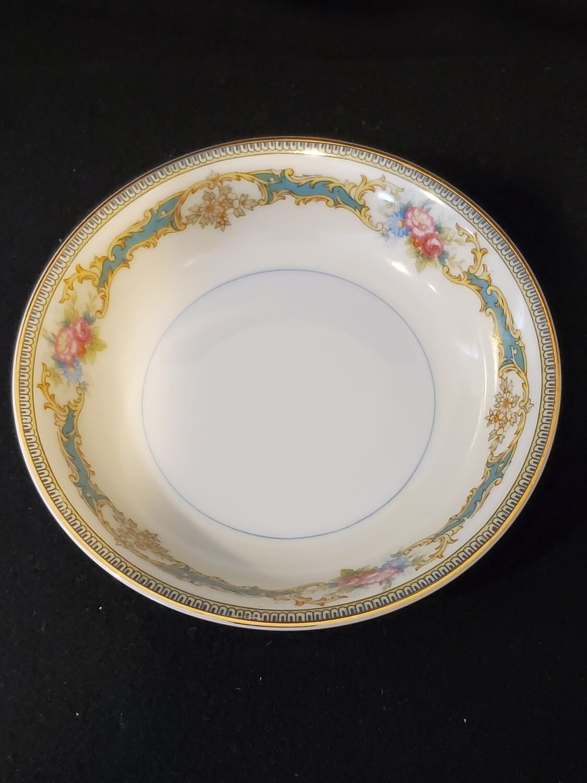 "Noritake Sauce, Fruit, Dessert Bowl, Porcelain, Althea pattern, 5 3/8"""