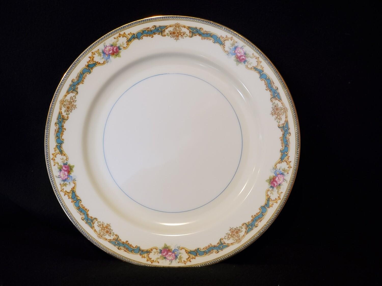 "Noritake Dinner Plate 10"" W, Porcelain, Althea pattern,"