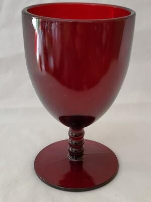 Anchor Hocking Monarch Royal Ruby Red 5 3/8