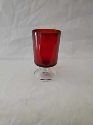 Cavalier Ruby, Wine Glass 4 1/8