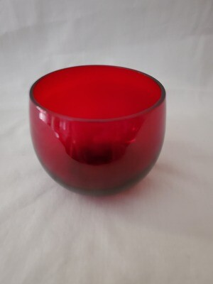 Anchor Hocking, Punch Cup, Liquor Cup, Royal Ruby
