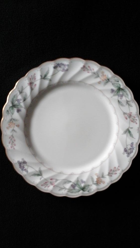 """Noritake China Salad Plate 8 1/4"""" Brookhollow Pattern #4704"""