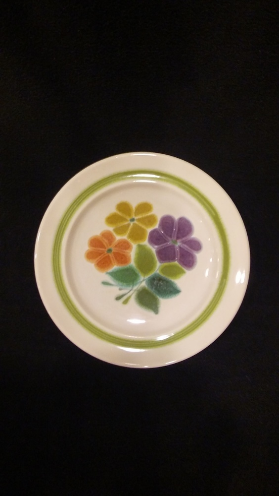 "Franciscan Earthenware, Floral Pattern, 8 1/2"" Salad Plate"