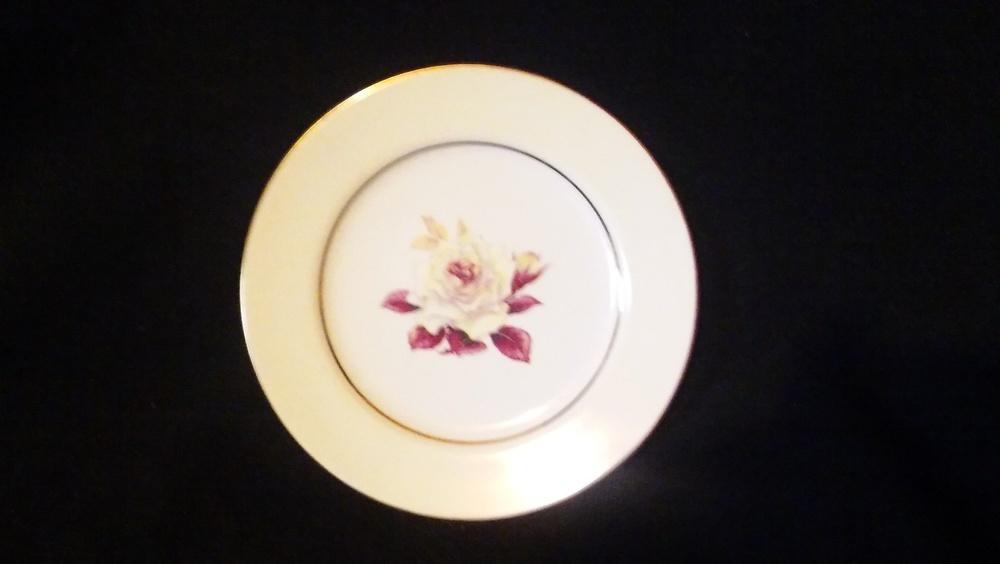 "Mikado Salad Plate 7 5/8"", Prima Donna Pattern"