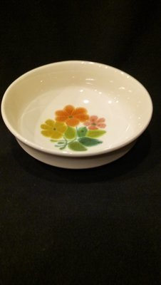 Franciscan Earthenware, Floral Pattern, 7 3/4
