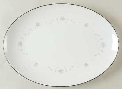 Sango China, Oval Serving Platter 12 1/4