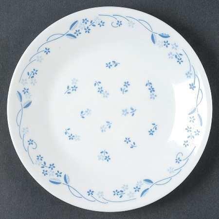 "Corelle Dinner Plate 10.5"" Provincial Blue Pattern"