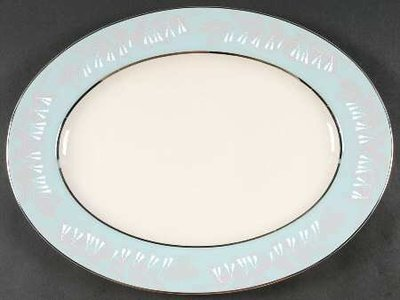 Nancy Prentiss Oval Serving Platter 15.5