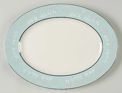 Nancy Prentiss Oval Serving Platter 13.5