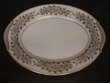Noritake China, Oval Serving Platter, Pattern 5318, Glenbrook