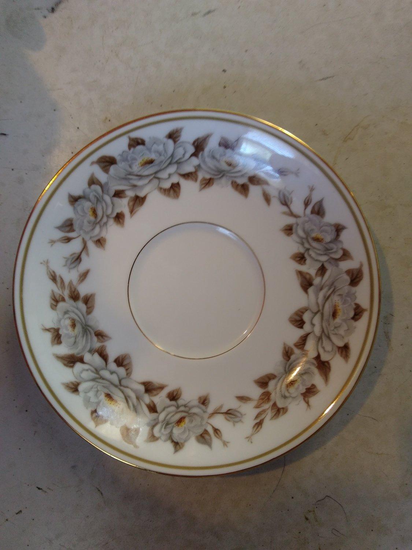 Noritake China, Saucer, Pattern 5318, Glenbrook