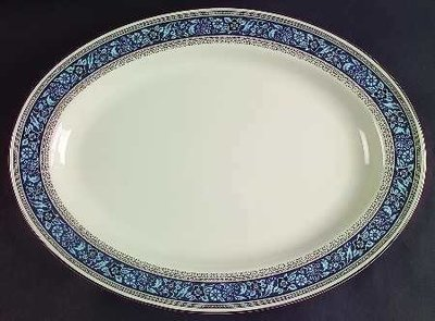 Pickard China, Oval Serving Platter 14
