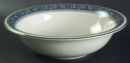 """Pickard China, 9"""" Oval Vegetable Bowl, Overture Pattern"""