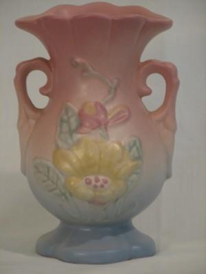 Hull Art Magnolia Matte Vase 13-4 3/4