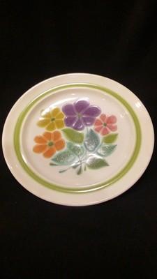 Franciscan Earthenware, Floral Pattern, 10.5