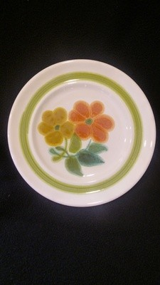 Franciscan Earthenware, Floral Pattern, Bread & Butter Plate 6 3/4
