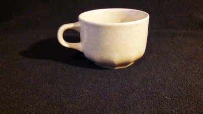 Mikasa Indian Feast, Flat Cup, Speckled Biscuit Pattern # DE 850