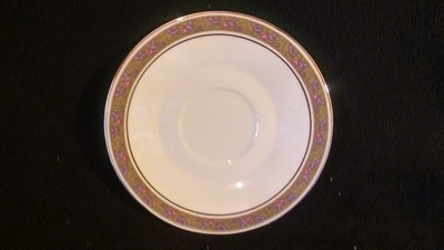 Franciscan Masterpiece China, Saucer, Constantine Pattern